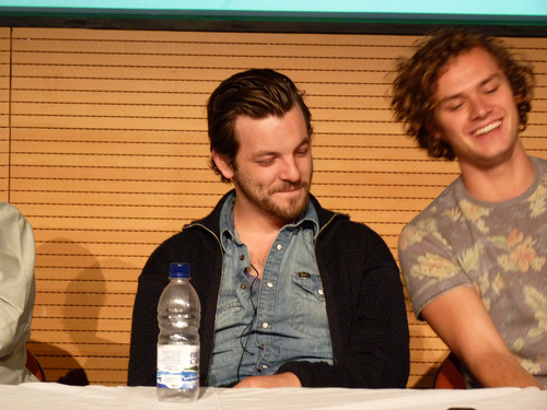 Game of Thrones wallpaper titled Gethin Anthony & Finn Jones @ 2012 Wales Con