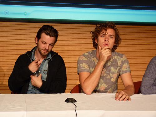 Gethin Anthony & Finn Jones @ 2012 Wales Con
