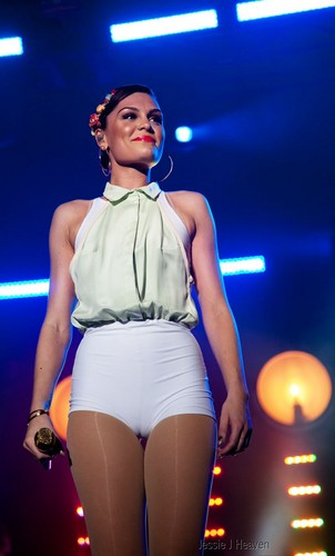 Jessie J wallpaper titled Gibraltar Music Festival, Gibraltar - September 8, 2012