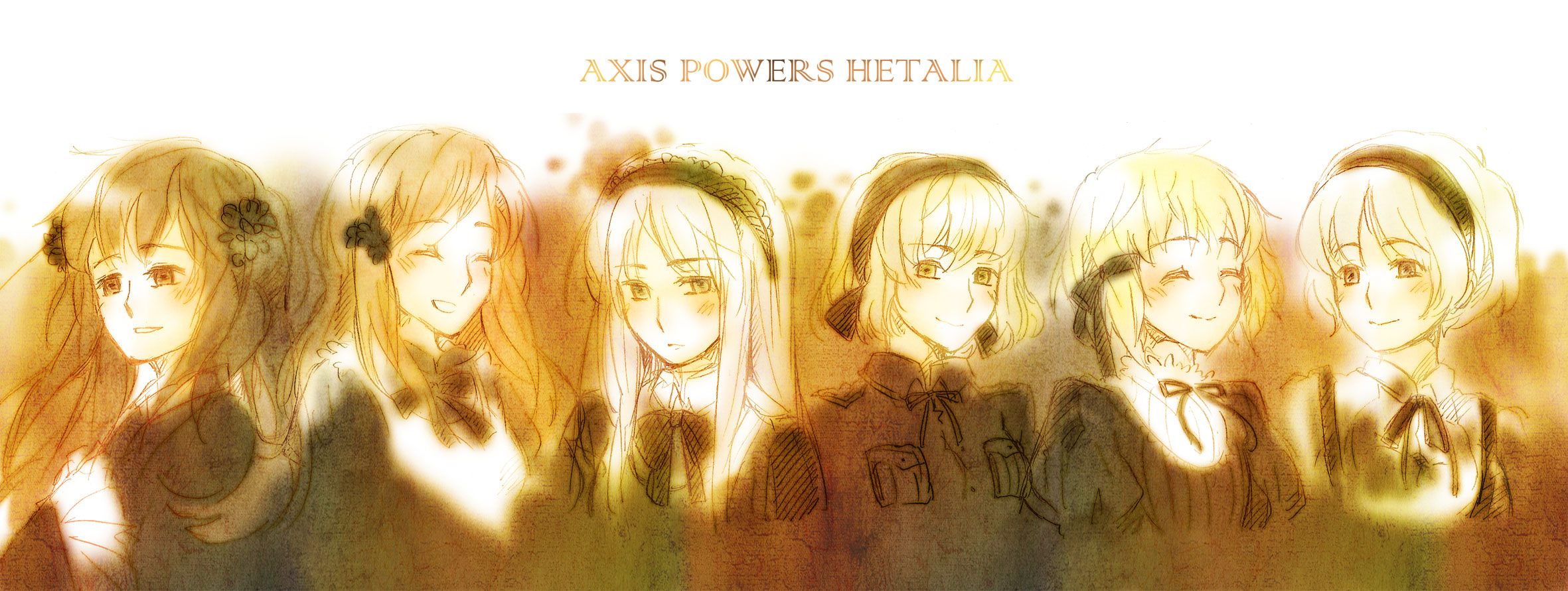Girls of hetalia - axis powers