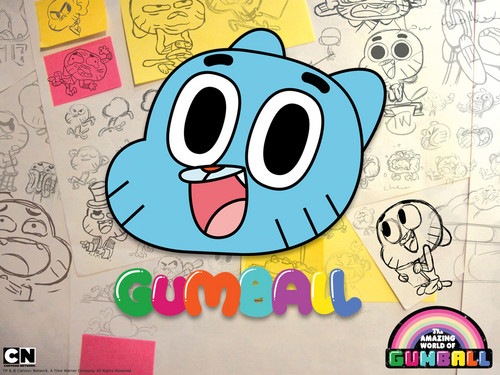 Zufällig Hintergrund containing Anime called Gumball sketchbook