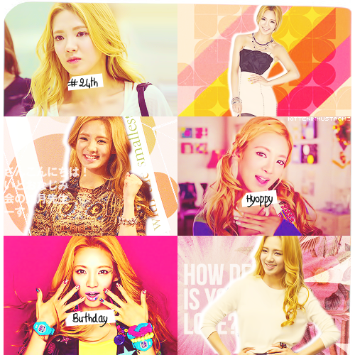 Happy Birthday Kim Hyoyeon~!