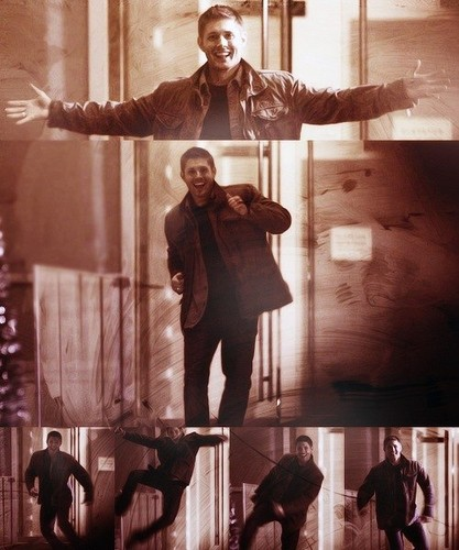 Happy dance ! - jensen-ackles Photo