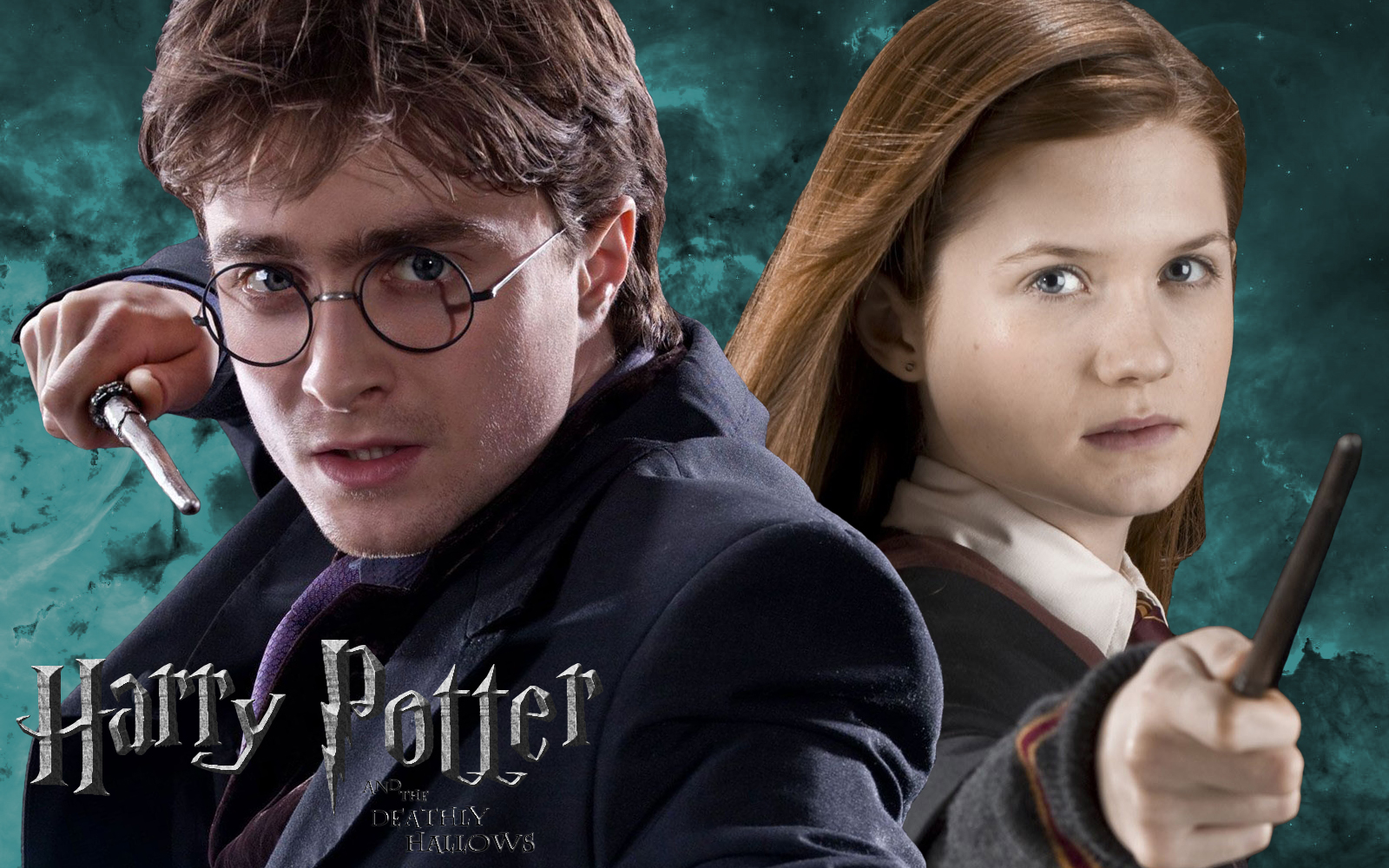 Harry Potter images Harry & Ginny - Ready to duel HD ...  Harry Potter im...