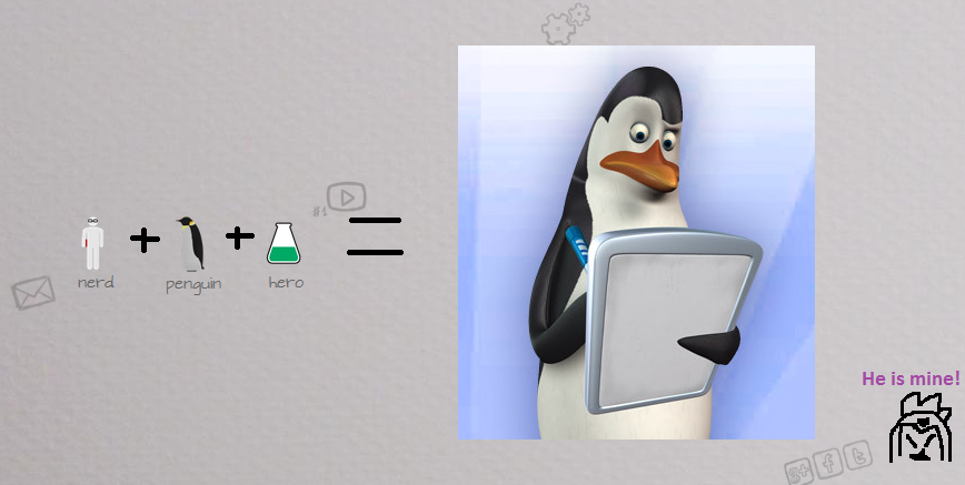 How to make a kowalski penguins of madagascar fan art for How to make fish in little alchemy