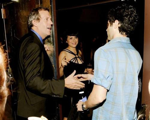 "Hugh Laurie and Dan Humphrey and Alia Shawkat- ""The Oranges"" New York Screening 14..09.2012"