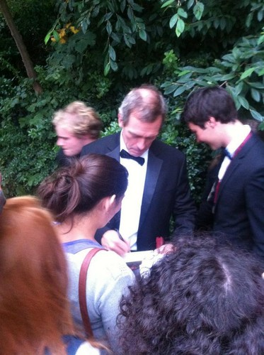 Hugh Laurie at Trinity College Dublin 19\09\12