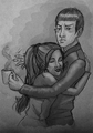 Human Emotions - spock-and-uhura fan art