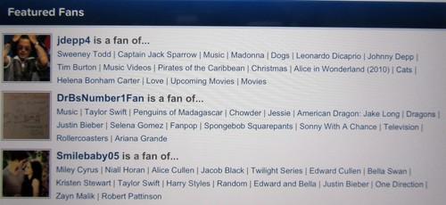 I'm a Featured Fan!