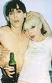 Iggy Pop and Debbie Harry
