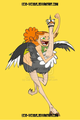Izzy the ostrich racer - total-drama-island fan art
