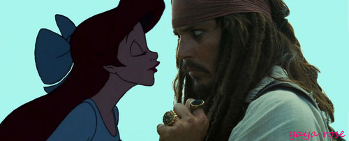 Jack Sparrow and Ariel