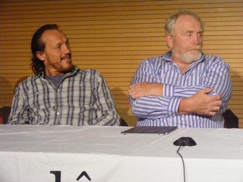 Jerome Flynn & James Cosmo @ 2012 Wales Con