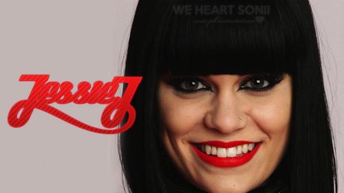 Jessie J achtergrond entitled Jessie J