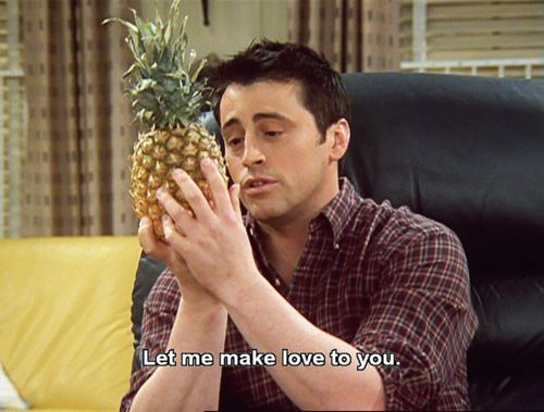 Joey Tribbiani پیپر وال with a pineapple and an agave tequilana called Joey