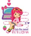 Join the sweet NETWORK - strawberry-shortcake photo