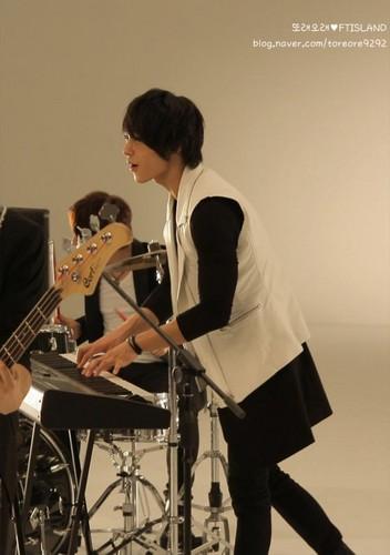 Jonghoon's Toreore CF Making चित्र Shoot