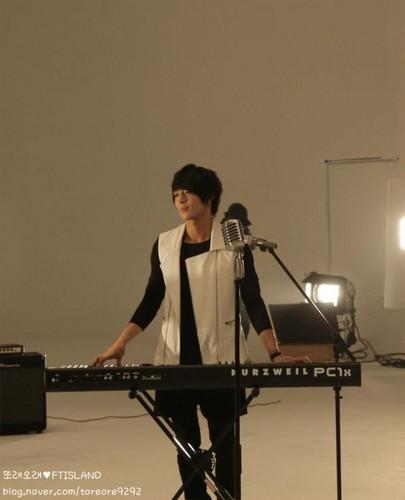 Jonghoon's Toreore CF Making Photo Shoot