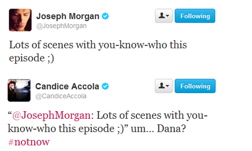 Joseph & Candice's FIRST EVER OFFICIAL TWITTER INTERATION, OMG آپ GUYS.