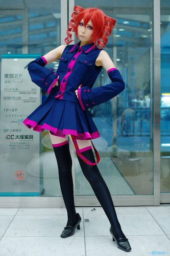 Kasane Teto Cosplay
