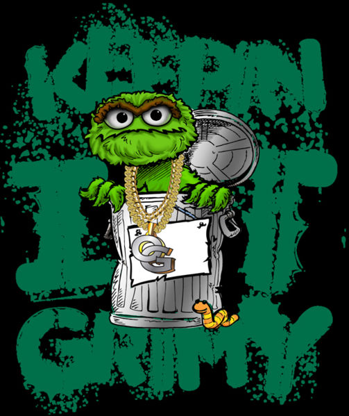 Sesame Street Bert Ernie Oscar The Grouch Big Bird Cookie Monster Elmo furthermore 376965431284888338 further Keeping Grimy With Oscar Grouch Photo together with Elmo's Night Before Christmas  book and tape as well Episode 3508. on oscar sesame street anime
