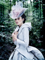 Keira in AK costume for Vogue (Oct. 2012)