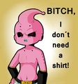 Kid Buu tells it how it is - dragon-ball-z photo
