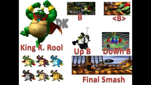 King K Rool Possible Moveset