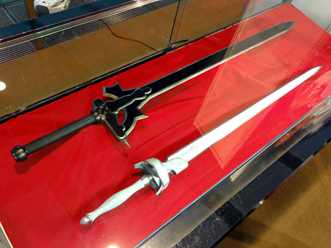 Kirito and Asuna's swords