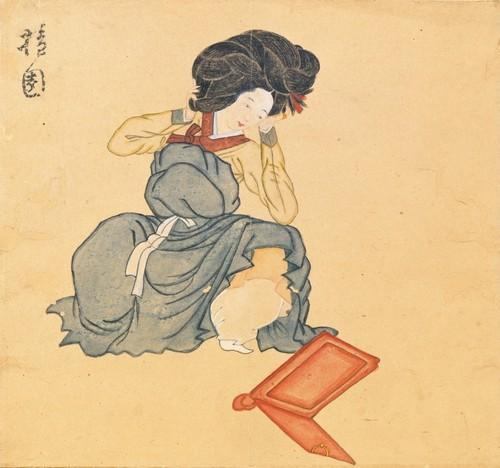 Korean artwork from the 1700s