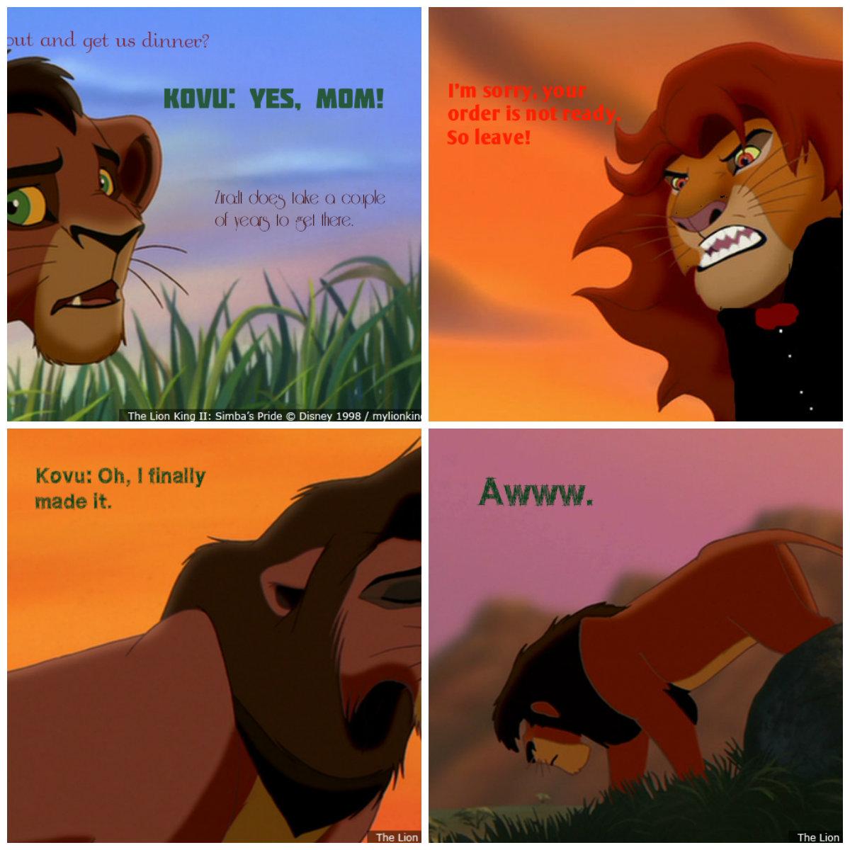 lion king kiaras reign