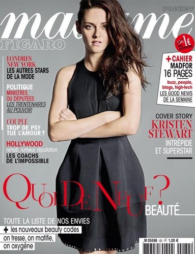 Kristen in Madame Figaro(french magazine)