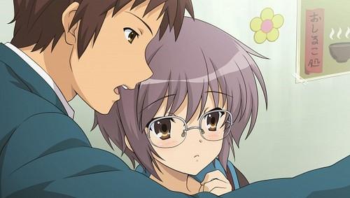Kyon and Nagato