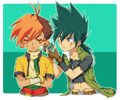 Kyoya and Nile lol