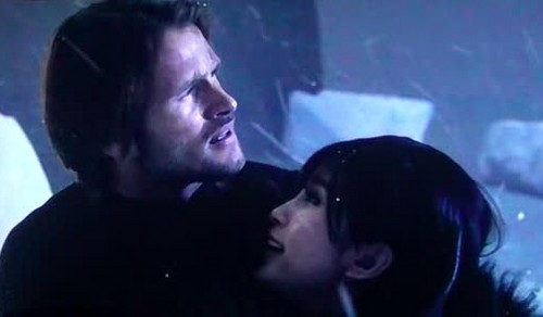Leon and Ada in Resident Evil Retribution