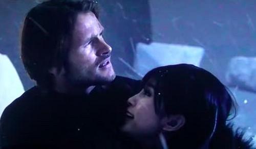 Leon and Ada in Resident Evil Retribution