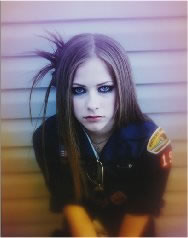 Avril Lavigne wallpaper with a portrait called Let Go Album Shoot 2002