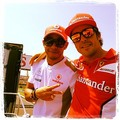 Lewis & Alonso Twit Pic
