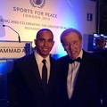 Lewis & Sir David Frost - lewis-hamilton photo
