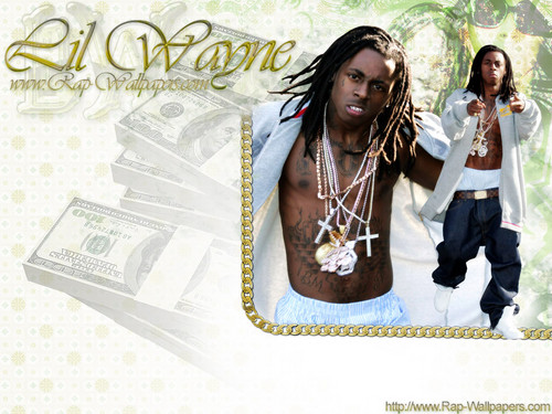 Lil' Wayne wallpaper with a sign titled Lil Wayne