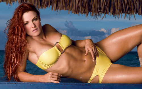 "Amy ""Lita"" Dumas Hintergrund with a bikini entitled Lita Photoshoot Flashback"