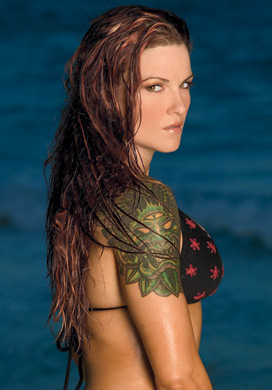 Lita Photoshoot Flashback