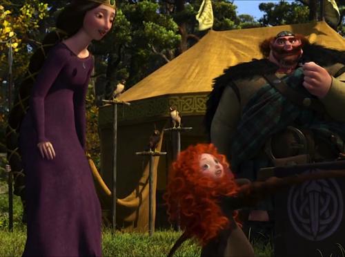 Little Merida, Elinor and Fergus