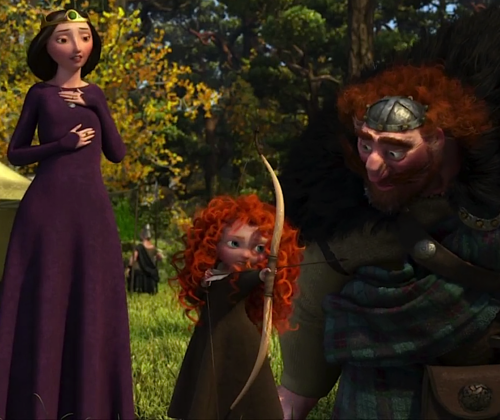 Little Merida, Elinor and Fergus