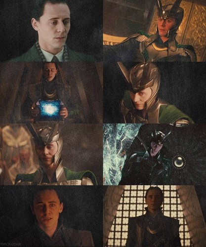 Loki tagahanga Art