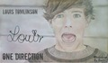 Louis Tomlinson Drawing - one-direction-fanfics fan art