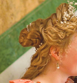 Lucrezia's hair