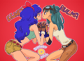 Lunch X Bulma (DB yuri)