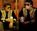 MICHAEL DRINKING BUDWEISER BEER!!!  - michael-jackson photo