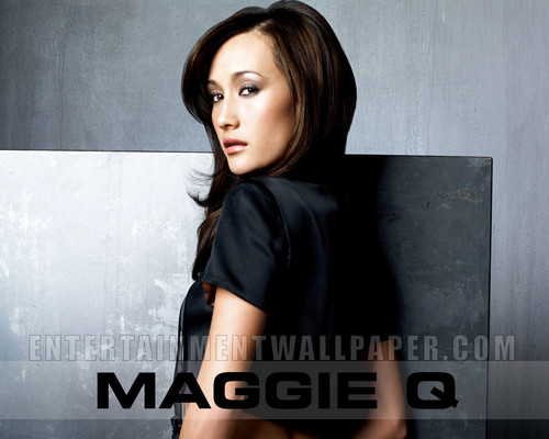 Maggie Q wallpaper possibly containing a portrait titled Maggie Q Wallpaper